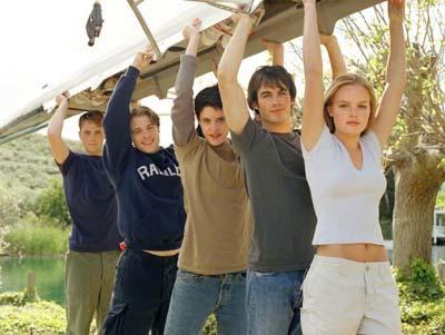 Young Americans : Photo Ian Somerhalder, Kate Bosworth, Katherine Moennig, Mark Famiglietti, Rodney Scott