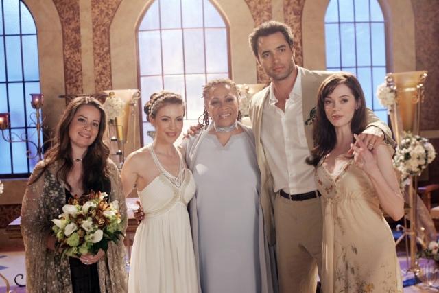 Charmed : Photo Alyssa Milano, Denise Dowse, Holly Marie