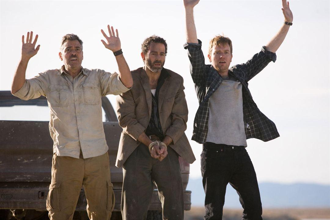 Les Chèvres du Pentagone : Photo Ewan McGregor, George Clooney, Grant Heslov, Waleed Zuaiter
