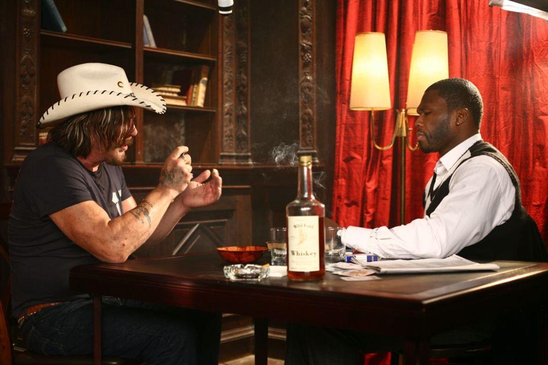 Mickey Rourke & Curtis '50 Cent' Jackson