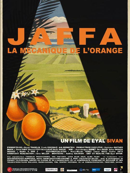Jaffa, la mécanique de l'orange : affiche