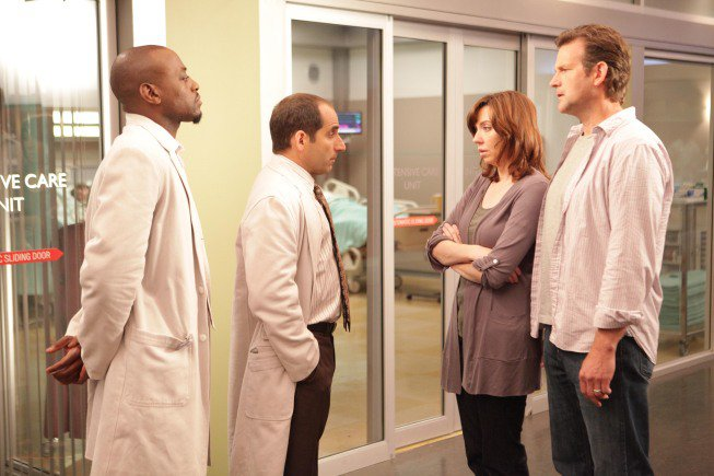 Dr House : Photo Omar Epps, Peter Jacobson