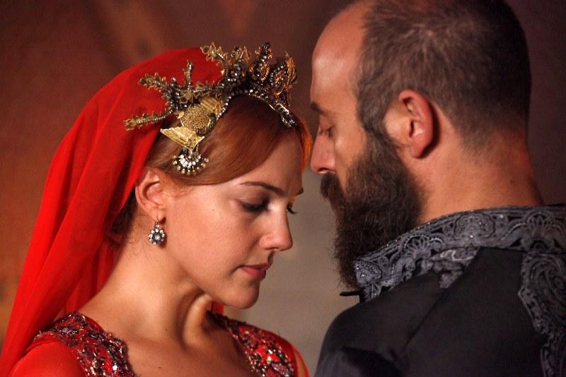 Photo Halit Ergenç, Meryem Uzerli