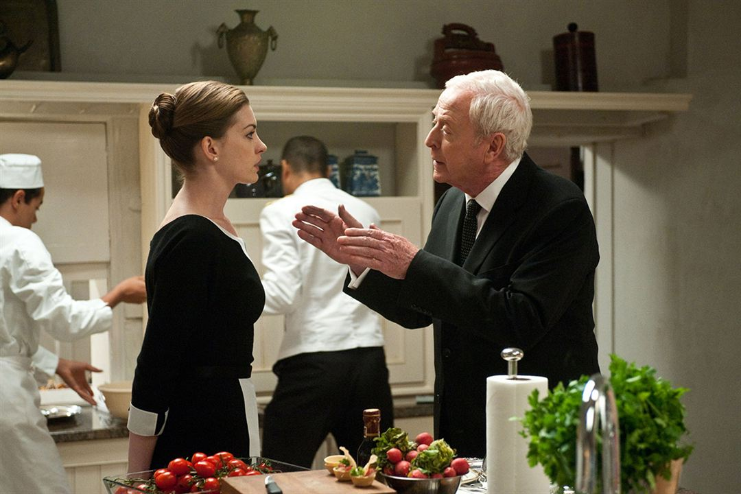 Anne Hathaway & Michael Caine