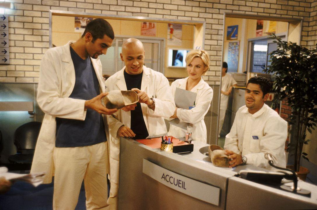 Photo Eric Judor, Jamel Debbouze, Ramzy Bedia, Sophie Mounicot