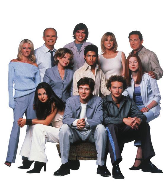 That '70s Show : Photo Ashton Kutcher, Danny Masterson, Debra Jo Rupp, Don Stark, Kurtwood Smith