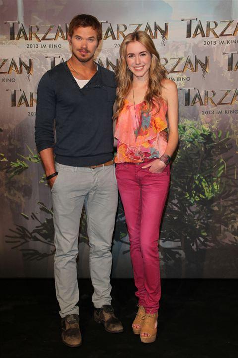 Tarzan : Photo promotionnelle Kellan Lutz, Spencer Locke