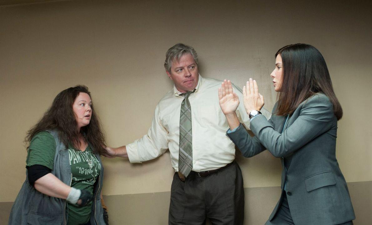 Les Flingueuses : Photo Melissa McCarthy, Sandra Bullock, Thomas F. Wilson