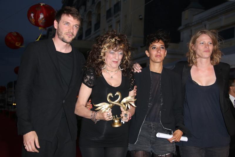Samuel Theis, Angélique Litzenburger, Marie Amachoukeli-Barsacq, Claire Burger (Grand Prix pour Party Girl)