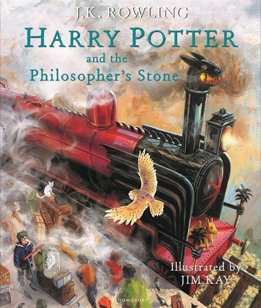 """""""Harry Potter à l'école des sorciers"""" illustré"""