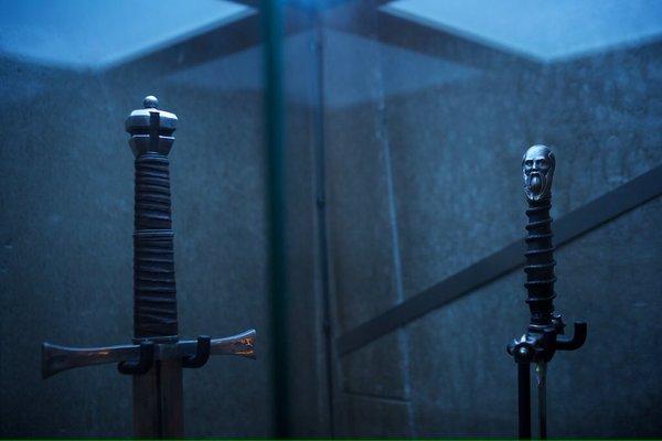 Le pommeau de l'épée d'Assassin's Creed