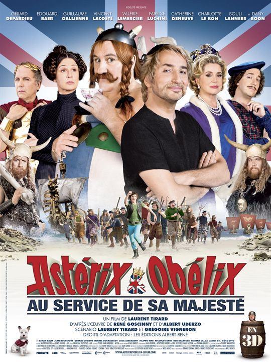 Astérix & Obélix : au service de sa majesté - Laurent Tirard (2012)