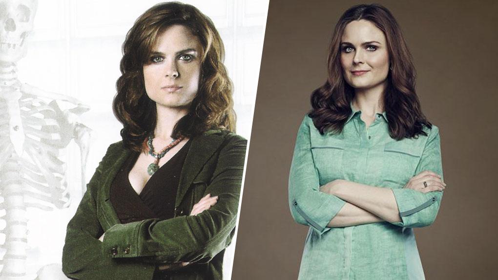 Emily Deschanel alias Temperance Brennan