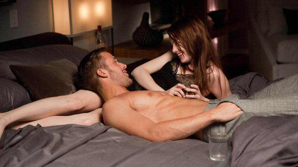 Crazy Stupid Love : tendre moment entre Stone et Gosling