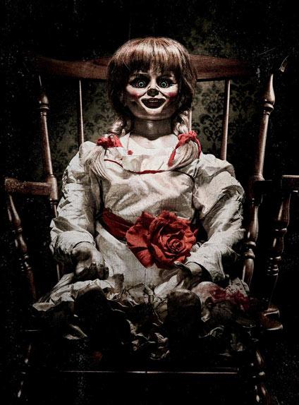 Premier aperçu de la poupée d'Annabelle 2