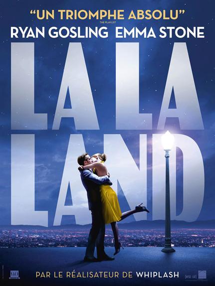 N°5 - La La Land : 8 350 000 $ de recettes