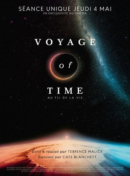 """""""Voyage of Time : Au fil de la vie"""" narré par Cate Blanchett"""