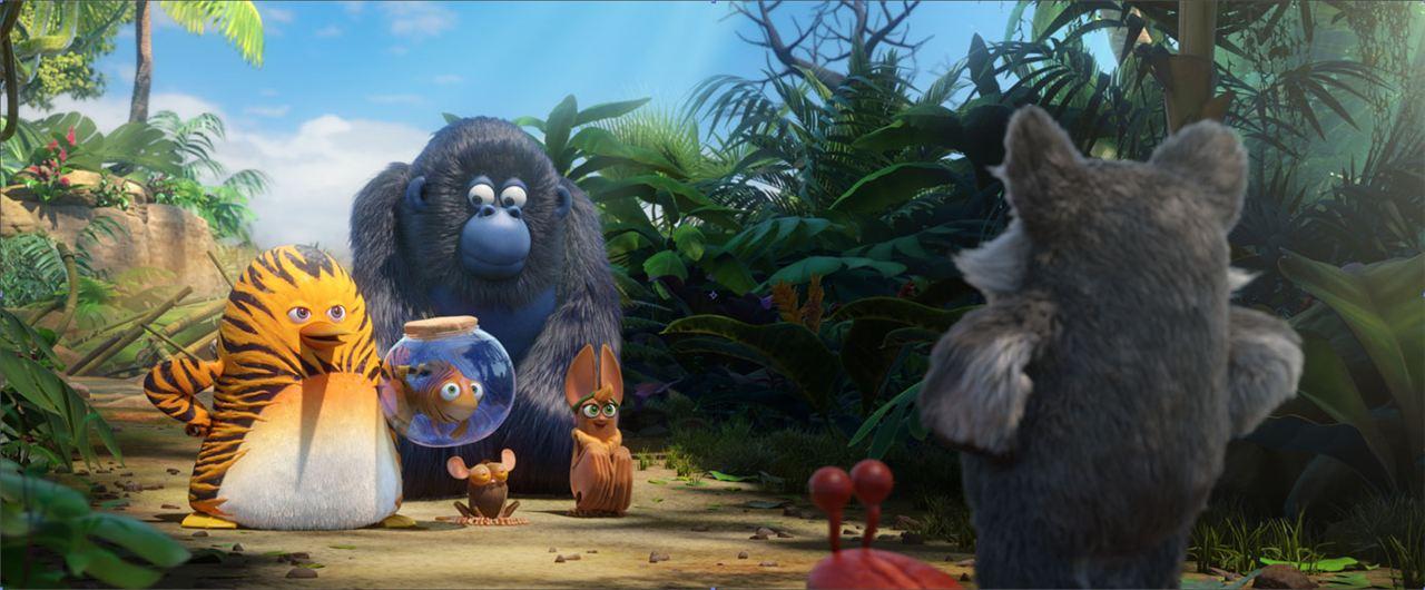 """""""Les As de la Jungle"""" avec les voix de Philippe Bozo et Emmanuel Curtil"""