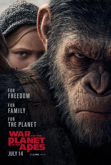 """""""La Planète des Singes - Suprématie"""" avec Andy Serkis, Woody Harrelson, Judy Greer ..."""