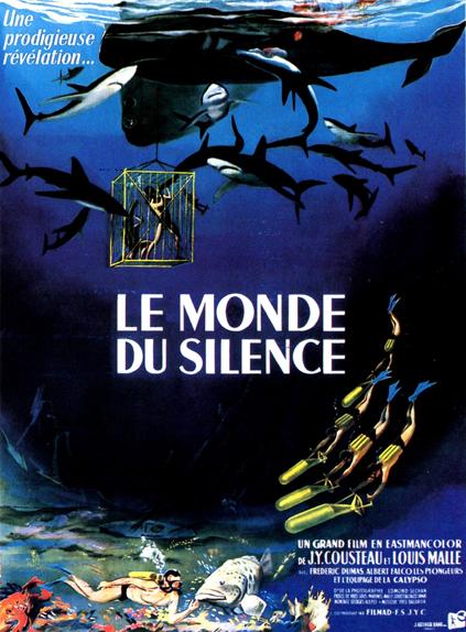 Palme d'Or 1956 - Le Monde du silence