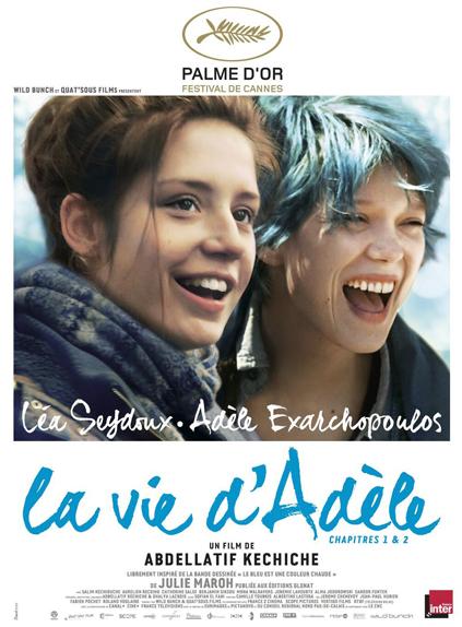 Palme d'Or 2013 - La Vie d'Adèle