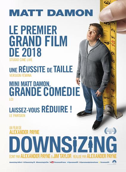 Downsizing d'Alexander Payne avec Matt Damon, Kristen Wiig, Christoph Waltz...