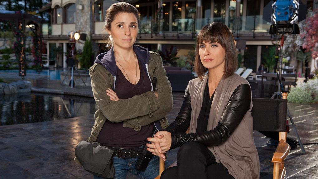 "Rachel et Quinn dans ""UnREAL"""