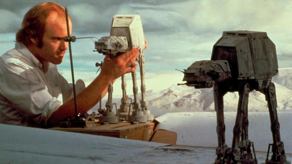 """Phil Tippett sur le tournage de """"L'Empire contre-attaque"""""""