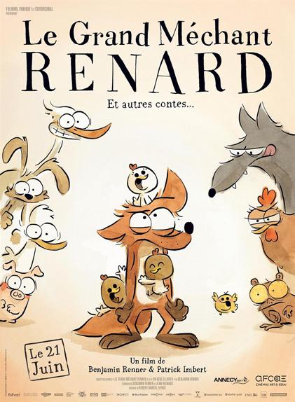 Le Grand Méchant Renard et autres contes : 1 récompense