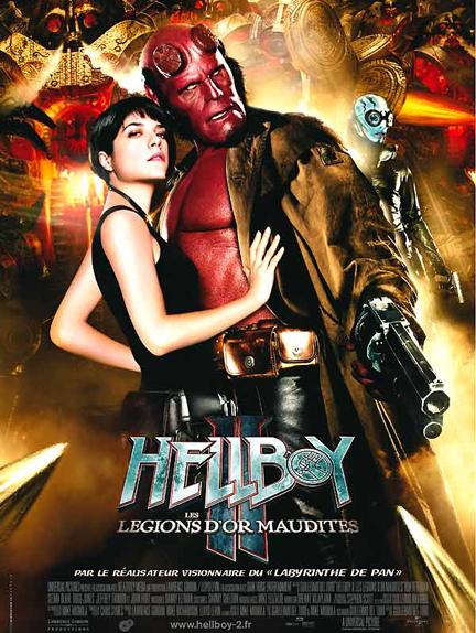 #6 - Hellboy II, les Légions d'or maudites (2008)