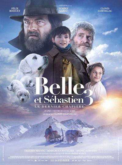 N°5 - Belle et Sébastien 3: 300 008 entrées