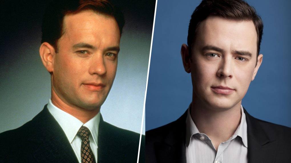 Tom et Colin Hanks