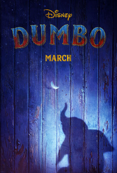 Dumbo de Tim Burton avec Colin Farrell, Danny DeVito, Eva Green...