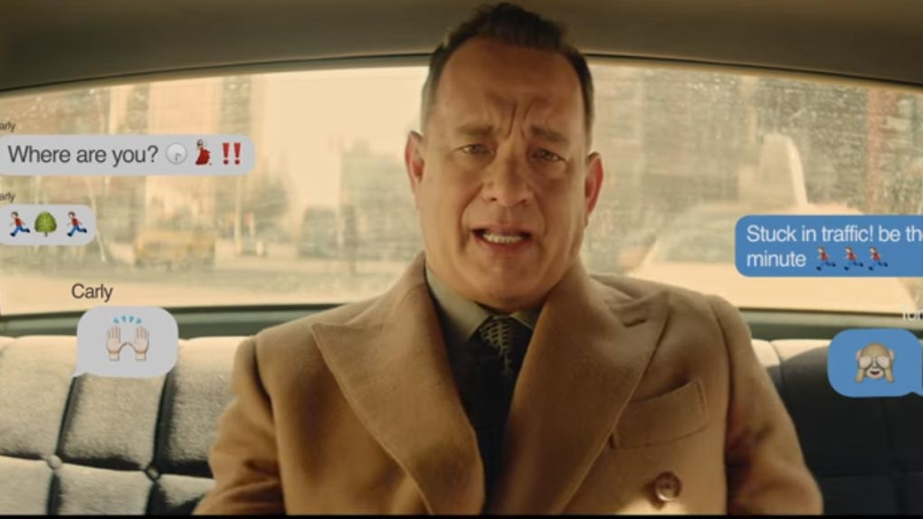 Tom Hanks chez Carly Rae Jepsen (2015)