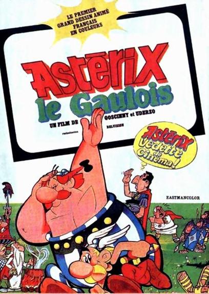 7 - Astérix le Gaulois (1967)