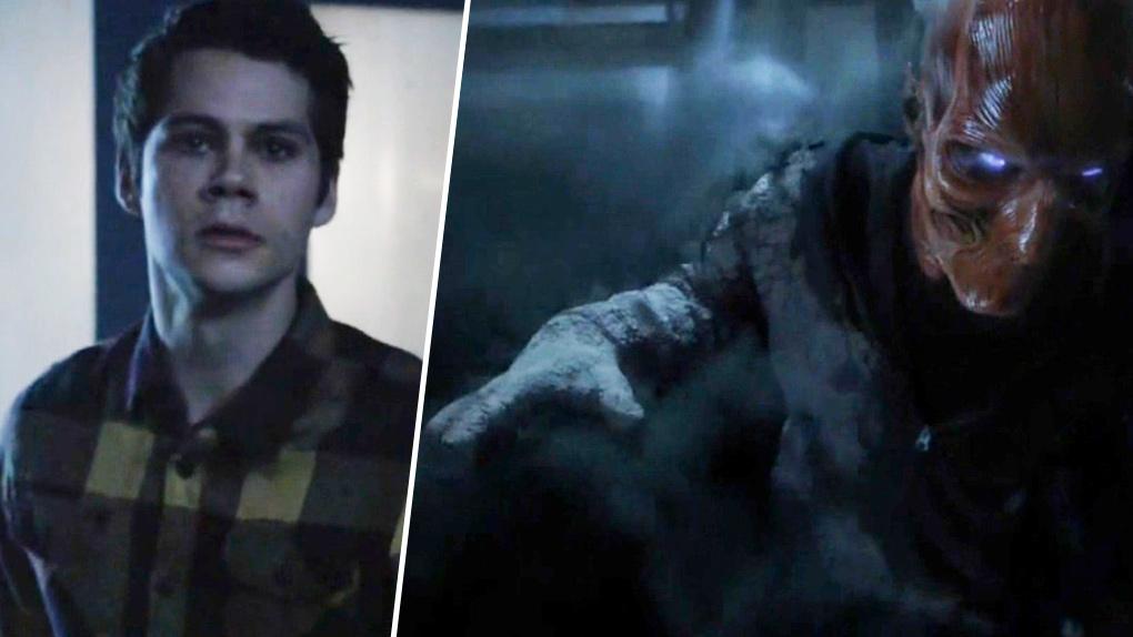 Stiles vient à la rescousse de Scott et tue l'Anuk-Ite