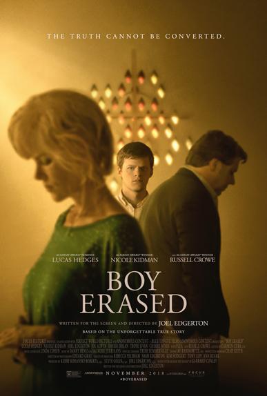 Boy Erased avec Lucas Hedges, Nicole Kidman...