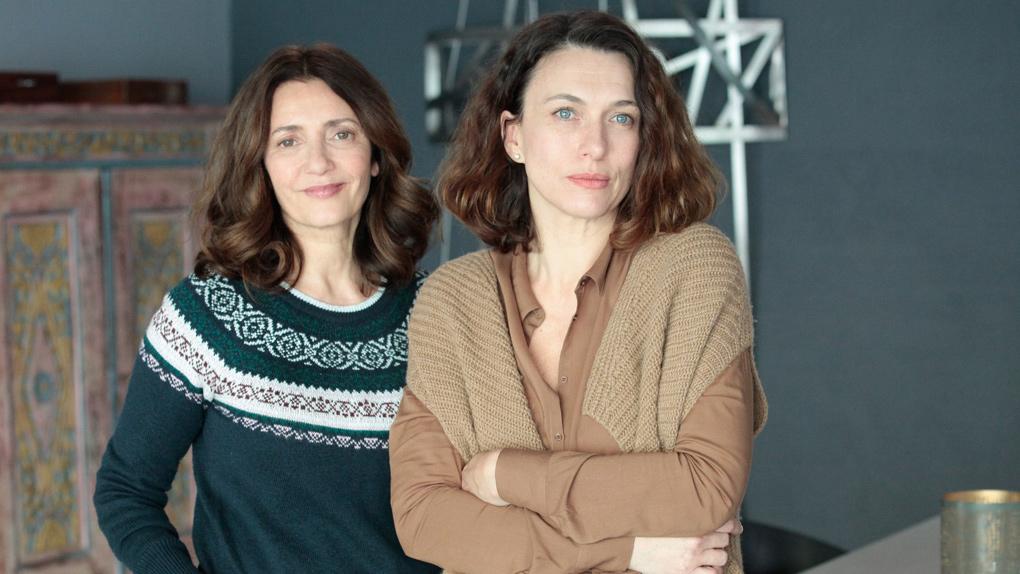 Valérie Karsenti et Natacha Lindinger dans La Faute sur M6