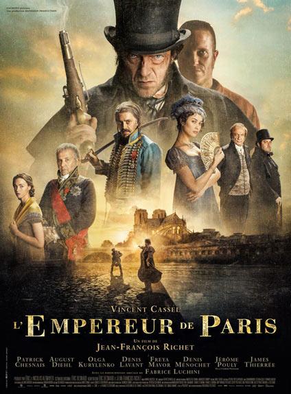 N°5 - L'Empereur de Paris : 268 859 entrées
