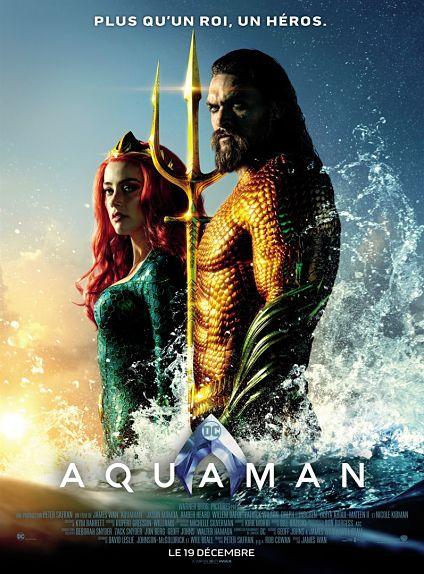 N°5 - Aquaman : 170 354 entrées