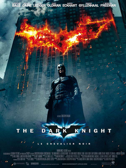 N°38 - The Dark Knight, Le Chevalier Noir : 1,004 milliard de dollars de recettes