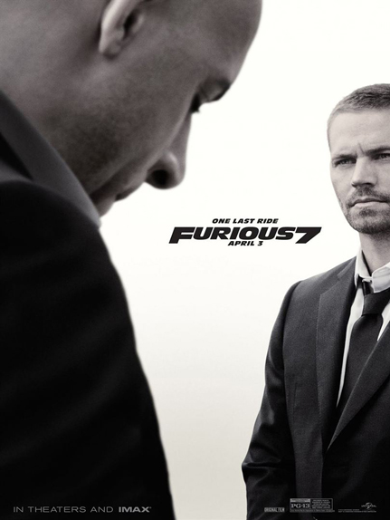 N°7 - Fast & Furious 7 : 1,516 milliard de dollars de recettes