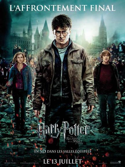 N° 11 - Harry Potter et les reliques de la mort partie 2 : 1,341 milliard de dollars de recettes