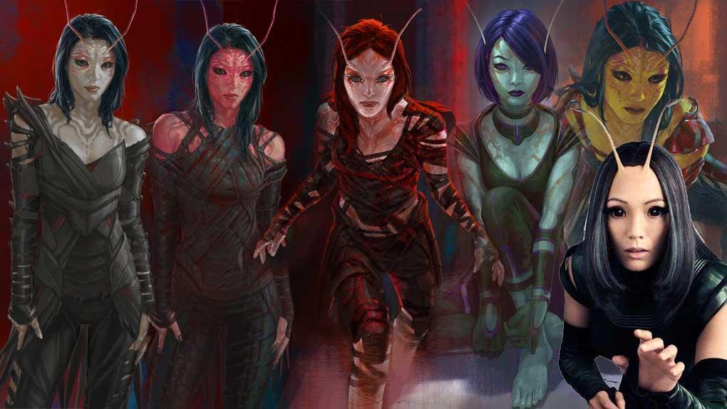 Les Gardiens de la Galaxie 2 (Mantis)