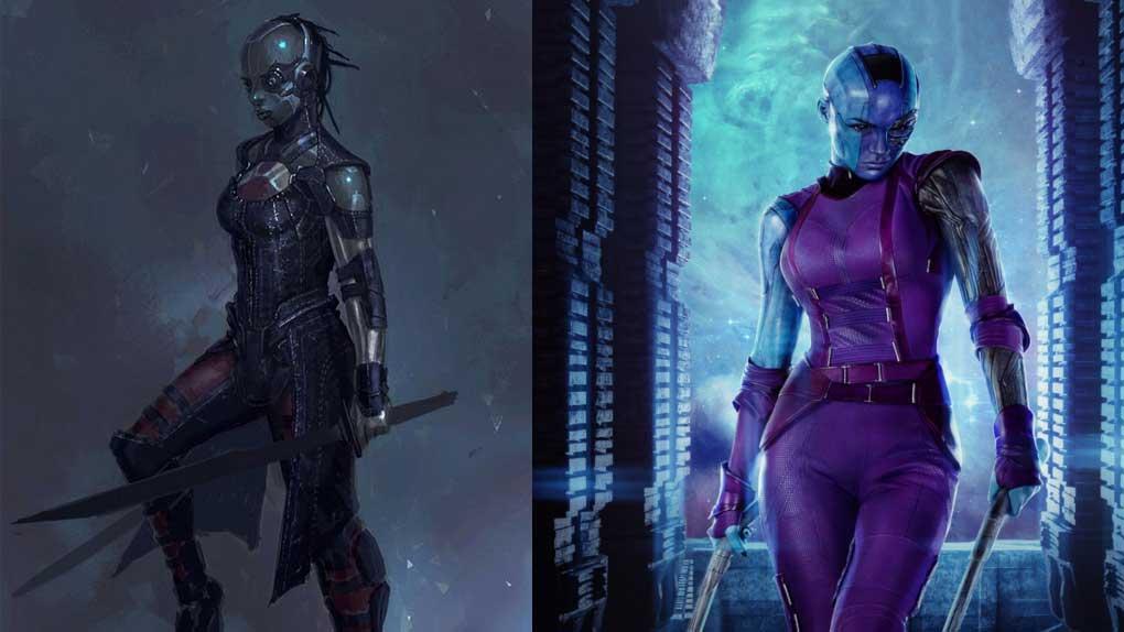 Les Gardiens de la Galaxie (Nebula)