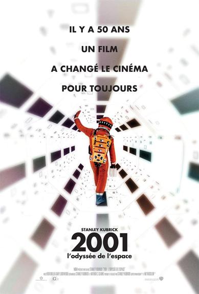 6e - 2001, l'odyssée de l'espace de Stanley Kubrick (1968)