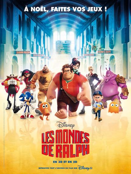 #10 - Les Mondes de Ralph (2012) : 4,1 sur 5