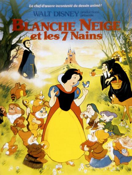 #17 - Blanche-Neige et les 7 nains (1937) : 3,9 sur 5