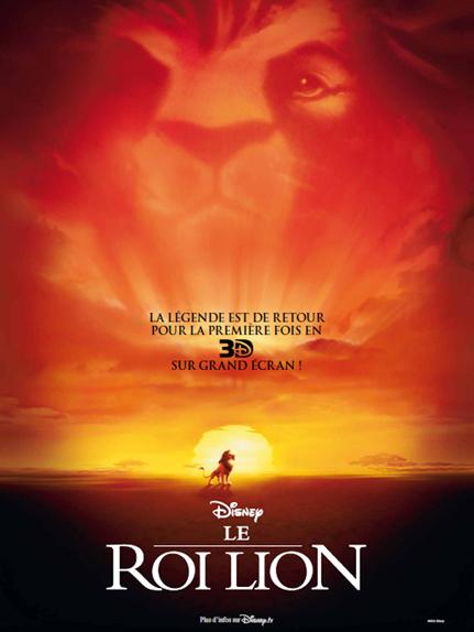 #1 - Le Roi Lion (1994) : 4,5 sur 5