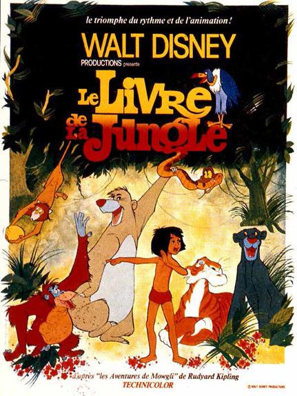 #7 - Le Livre de la Jungle (1967) : 4,1 sur 5
